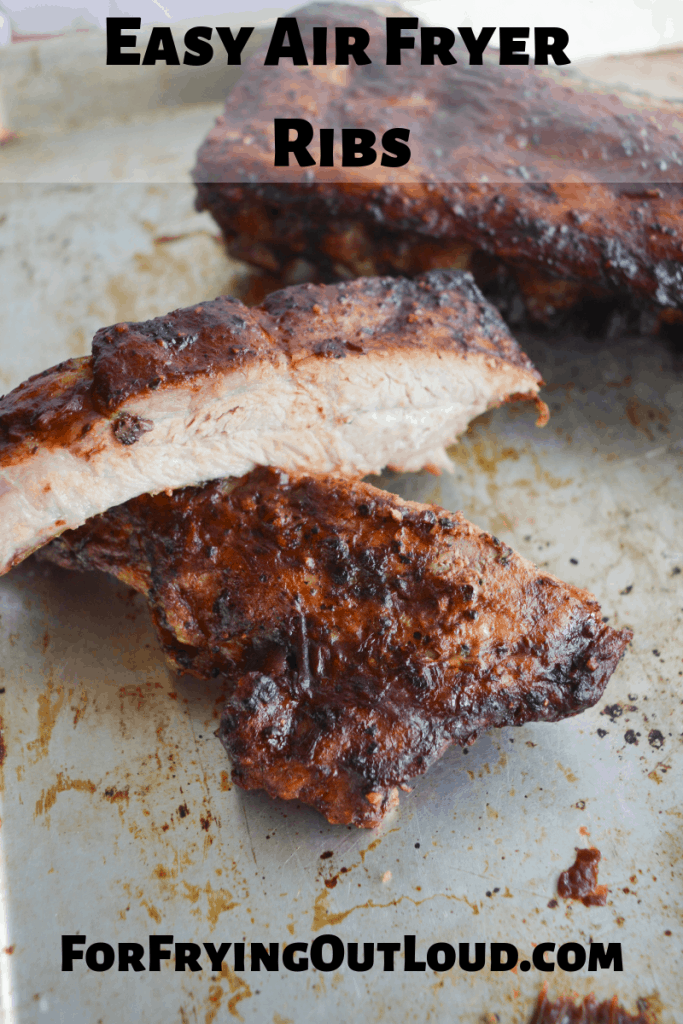 These air fryer ribs are a barbecue lovers dream! In just 25 minutes you'll have delicious, tender and crispy ribs that will satisfy your whole family.