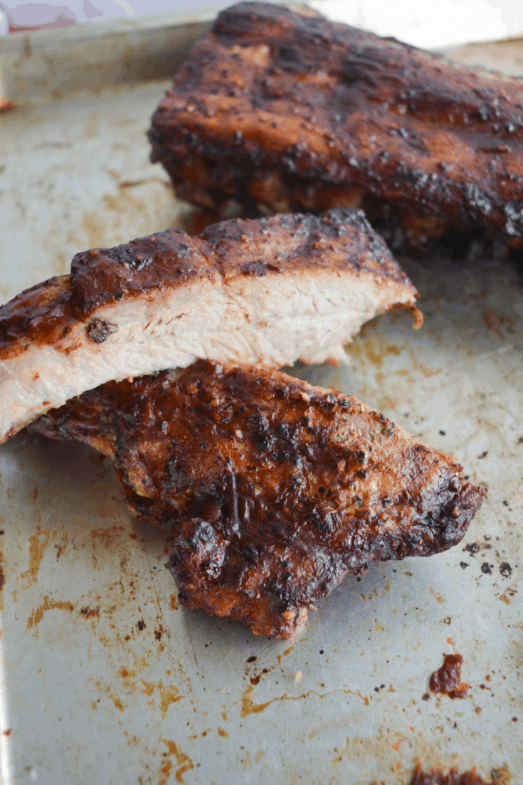 Easy Air Fryer Ribs