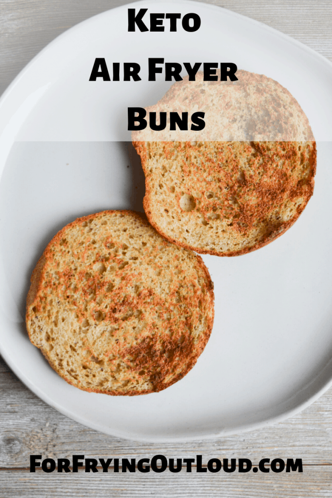 These low carb buns, made in the air fryer, are a delicious complement to your burgers and keto sandwiches. Quick, easy, and only 3.3g net carbs each, they're likely to become your go-to recipe!