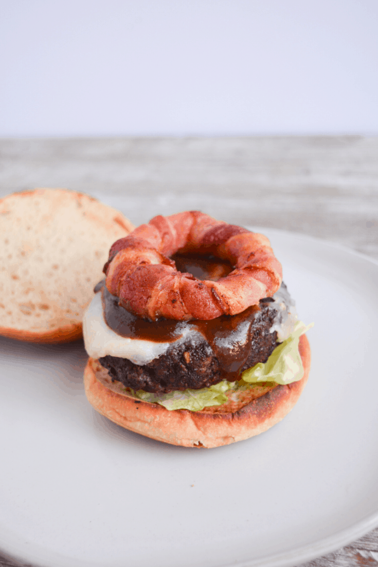 Air Fryer Burgers