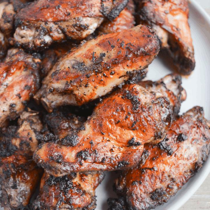 Air Fryer Jamaican Jerk Chicken Wings