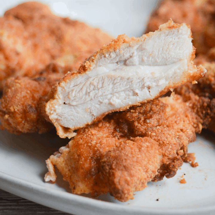 The Best Keto Fried Chicken - Air Fryer Recipe