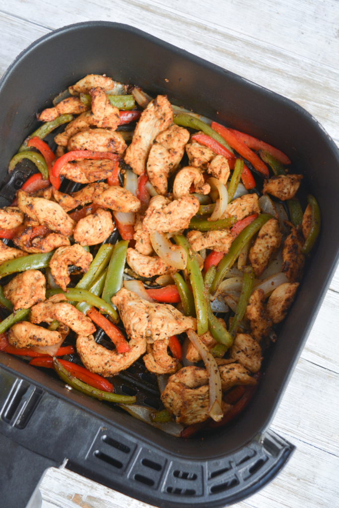 cooked chicken fajita